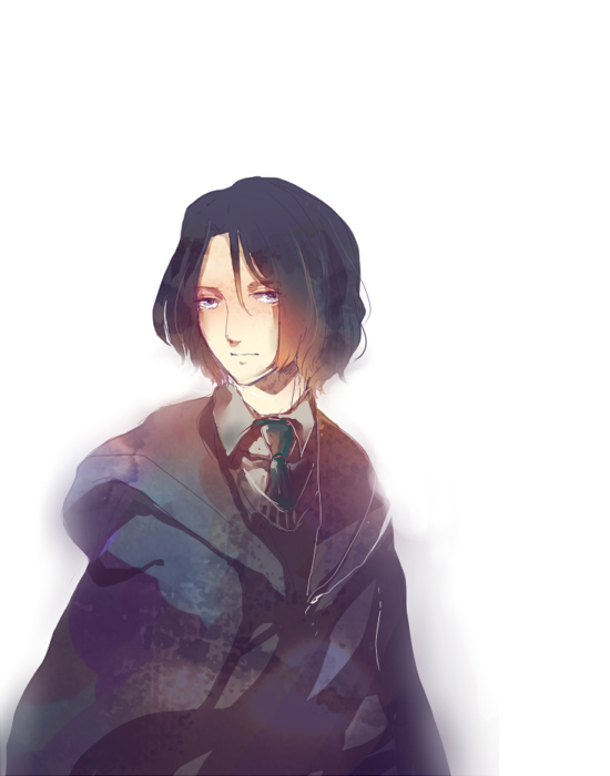 Tags: Anime, Pixiv Id 1133212, Harry Potter, Severus Snape, Slytherin House