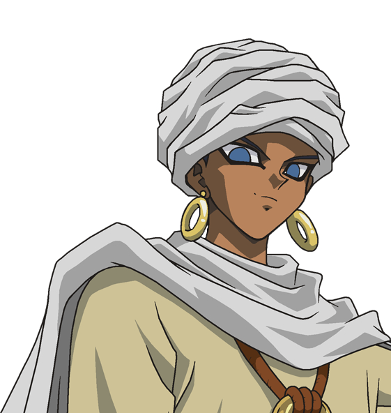 Tags: Anime, Studio Gallop, Yu-Gi-Oh!, Yu-Gi-Oh! Duel Monsters, Shadi, Egyptian Clothes, Turban, Eyeliner, Official Art, PNG Conversion