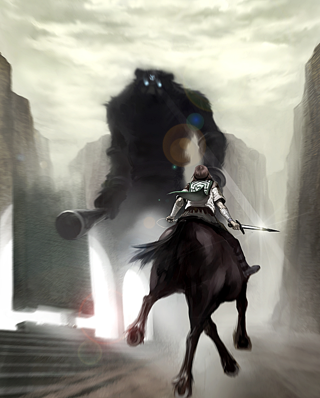 Shadow of The Colossus Wander And Agro Colossus Agro Wander