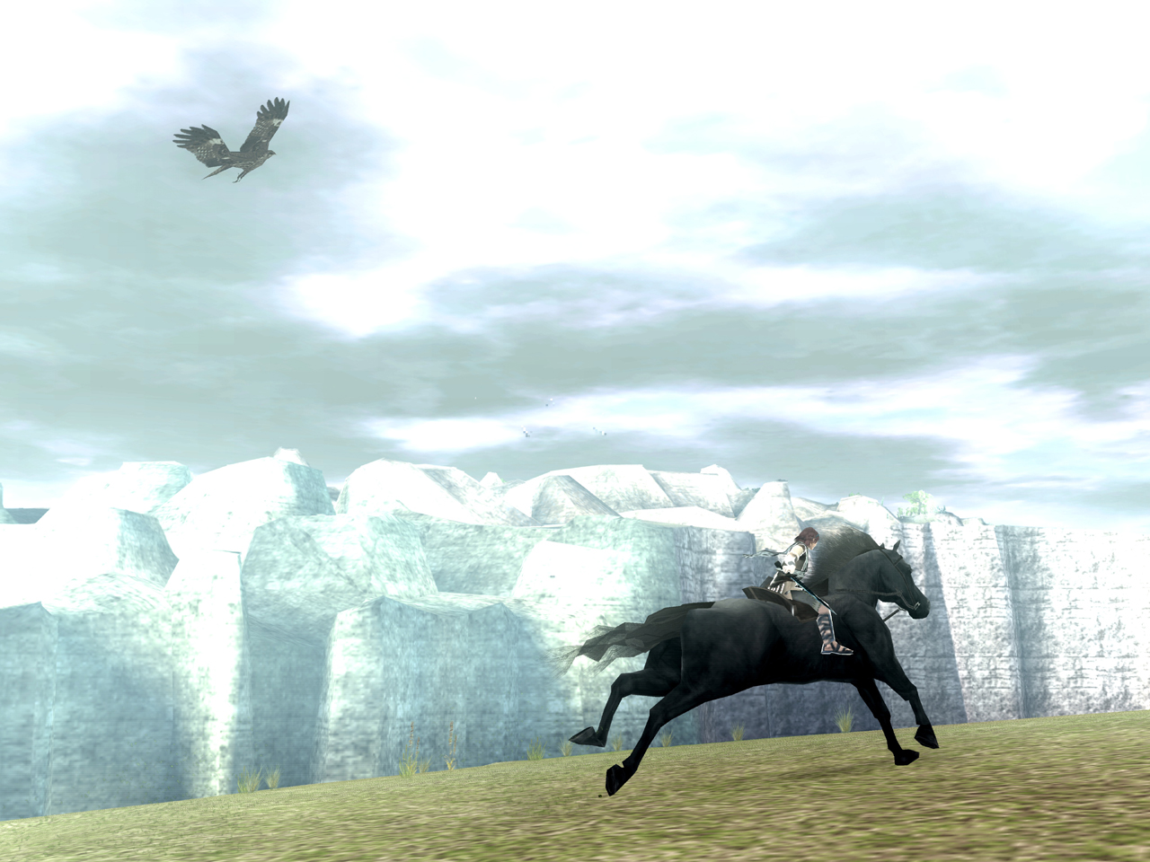 Shadow of The Colossus Wander And Agro The Colossus Agro Wander