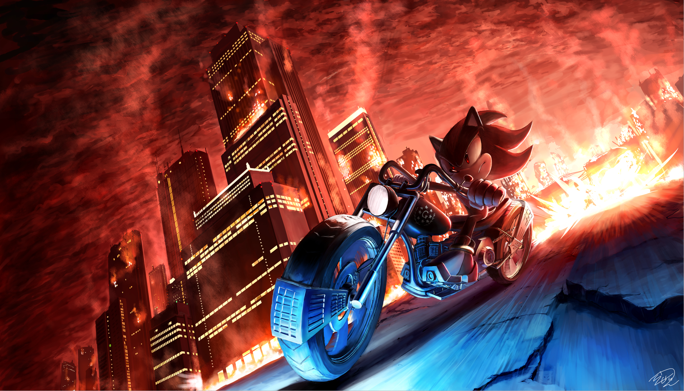 Shadow The Hedgehog Sonic Adventure 2 Battle Wallpaper 1914693