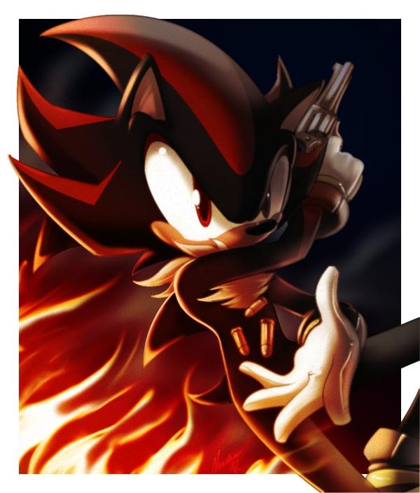Shadow The Hedgehog Fanart Page 10 Zerochan Anime Image Board