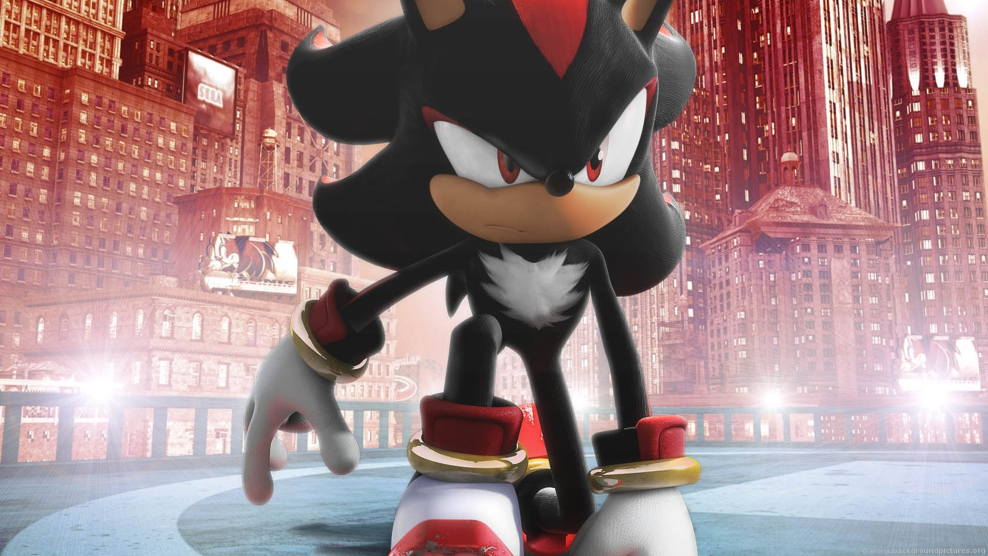 Shadow The Hedgehog Sonic Adventure 2 Battle Hd Wallpaper