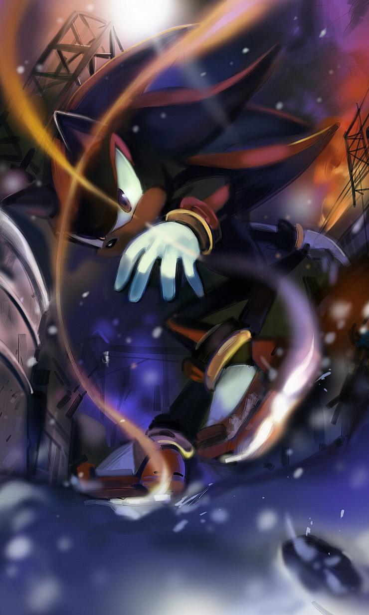 Tags Anime Lujji Sonic The Hedgehog Shadow Mobile Wallpaper