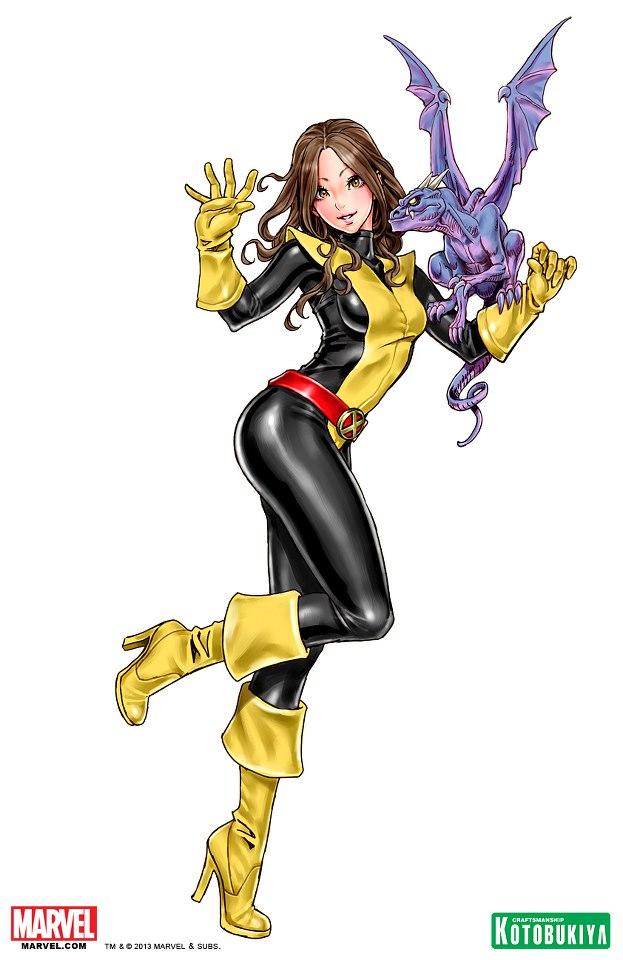 Tags: Anime, Yamashita Shunya, X-Men, Shadowcat, Yellow Handwear, Yellow Footwear, Yellow Gloves, Mobile Wallpaper, Marvel