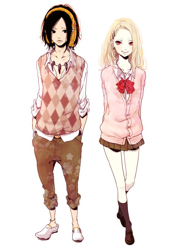Tags: Anime, Ya512722, Shaman King, Asakura Yoh, Kyouyama Anna