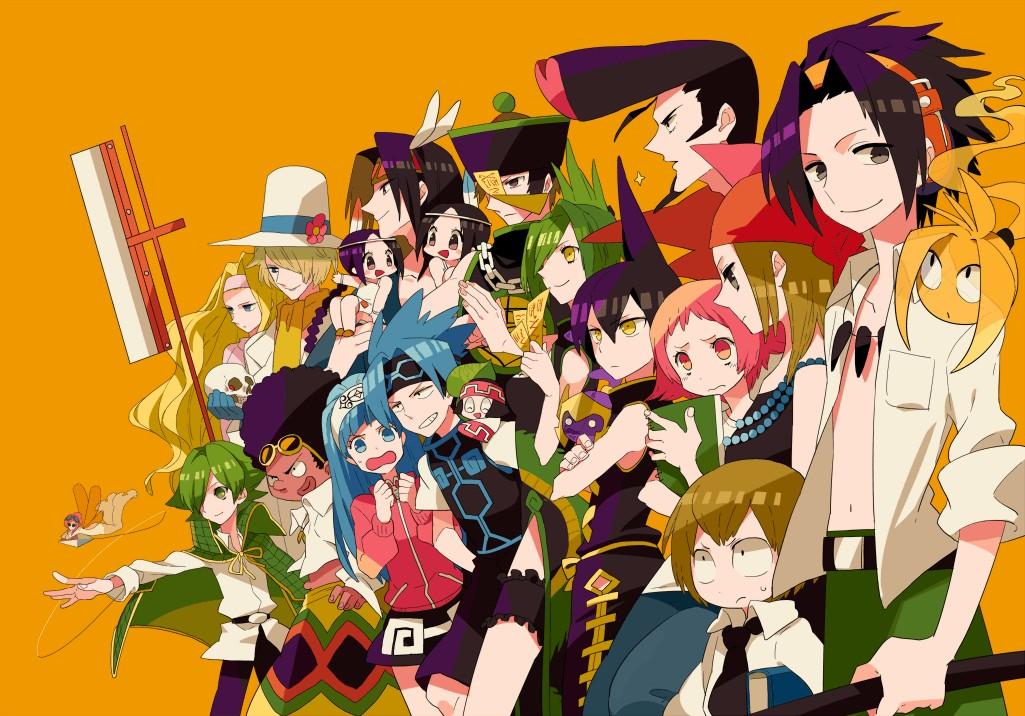 Tags: Anime, Shaman King, Asakura Yoh, Amidamaru, Tao Jun, Silva