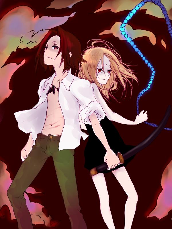 Tags: Anime, Ya512722, Shaman King, Kyouyama Anna, Asakura Yoh