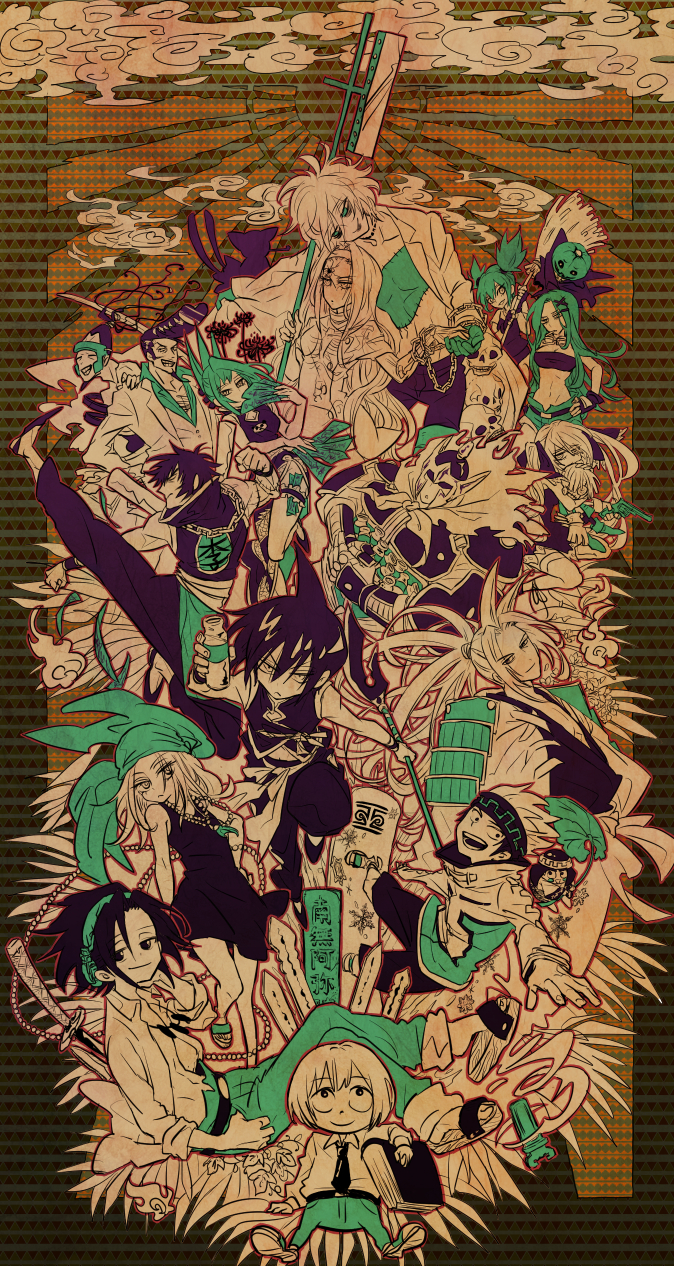 Tags: Anime, Pixiv Id 790965, Shaman King, Tokagerou, Marion Phauna, Umemiya Ryuunosuke, Tao Ren, Lee Pyron, Tao Jun, Johann Faust VIII, Oyamada Manta, Matilda Matisse, Amidamaru