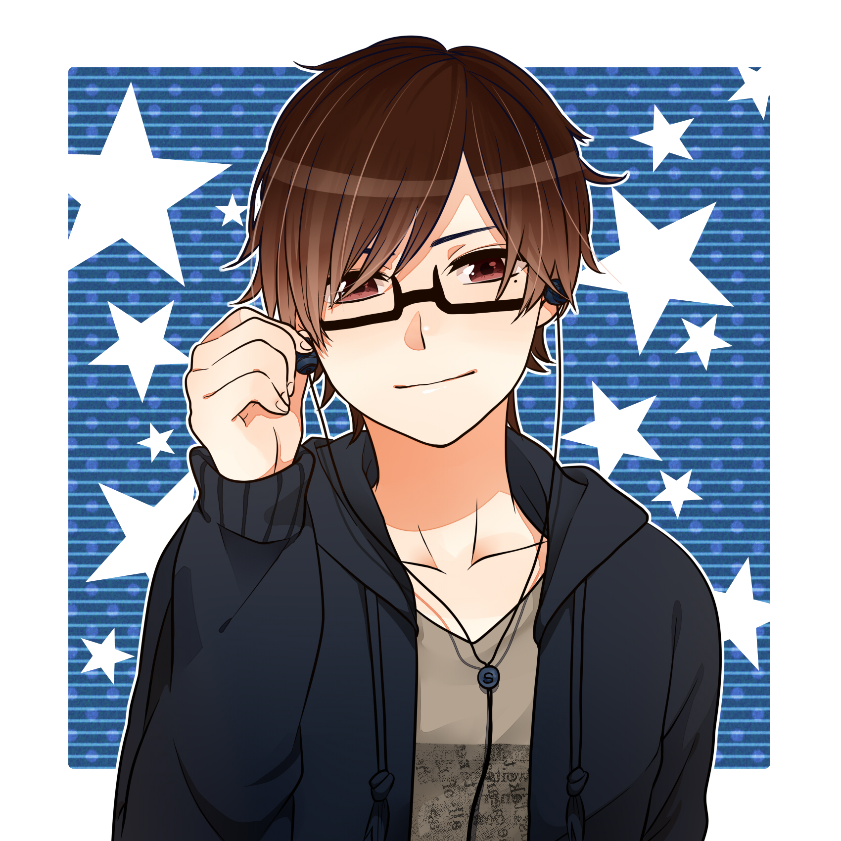 Anime Characters With Glasses : Shamuon  zerochan