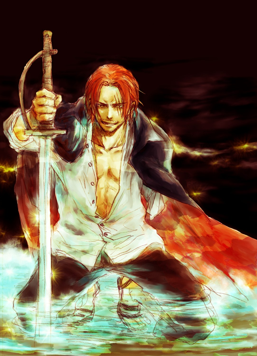 Shanks One Piece Page 3 Of 5 Zerochan Anime Image Board