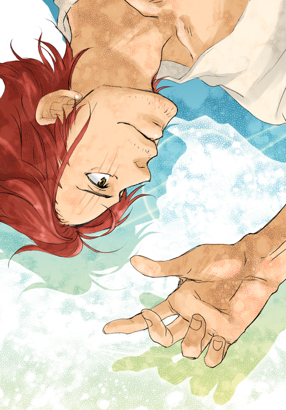 Tags: Anime, Pixiv Id 1805326, ONE PIECE, Shanks, Fanart, Fanart From Pixiv, Pixiv, Mobile Wallpaper, Red Hair Pirates