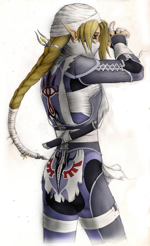 Sheik Zelda No Densetsu Toki No Ocarina Page 2 Of 2 Zerochan