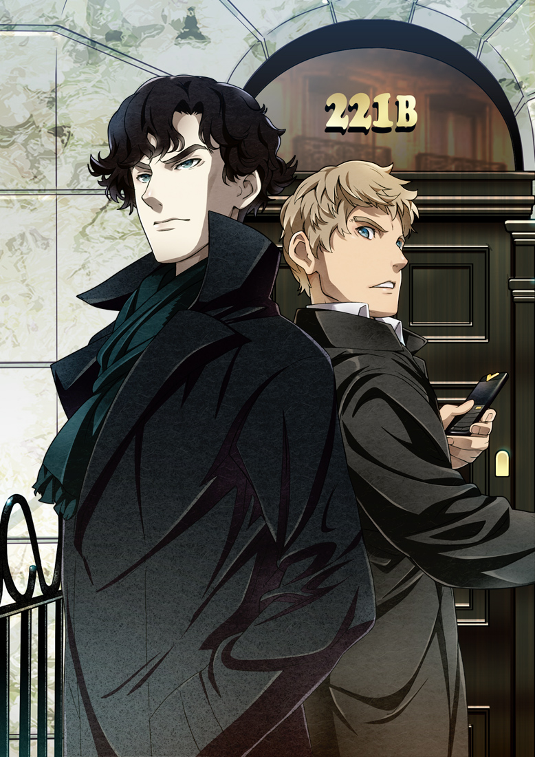 Sherlock Manga Wallpaper