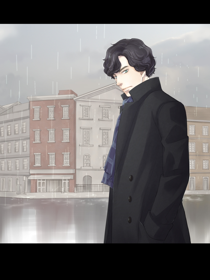 Шерлок холмс в аниме картинки