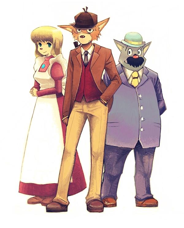 Sherlock Hound Zerochan Anime Image Board