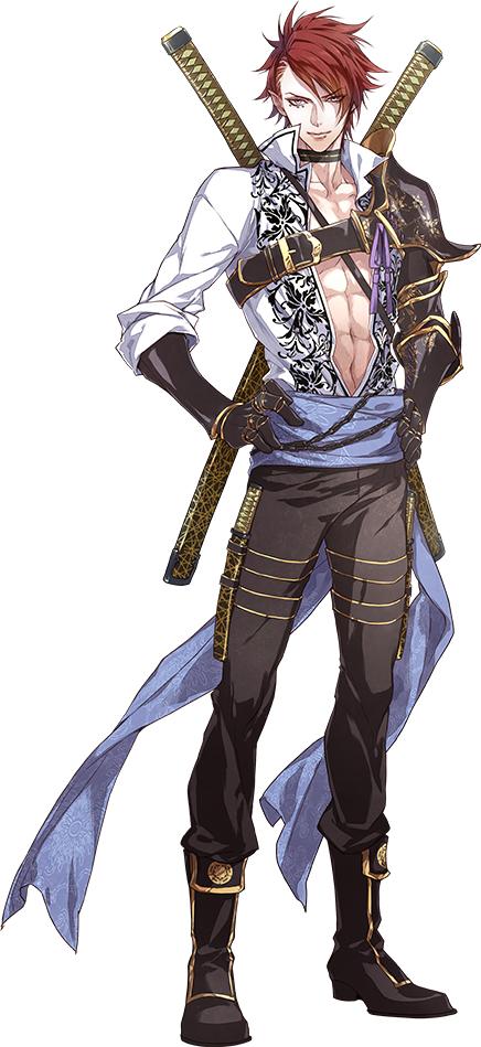 shibata katsuie  sengoku night blood  image  2105192
