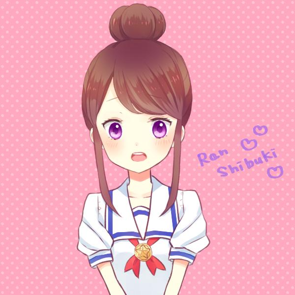 Shibuki Ran Aikatsu Zerochan Anime