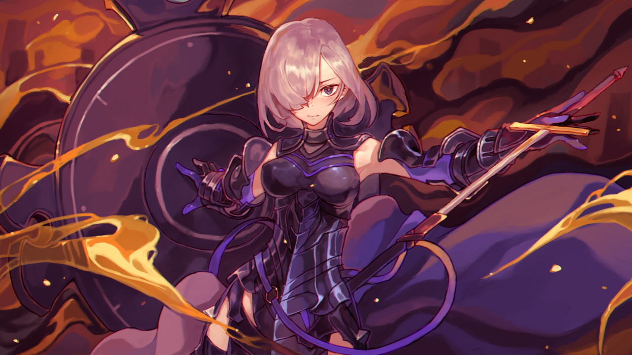Shielder Fate Grand Order Wallpaper Zerochan Anime Image Board