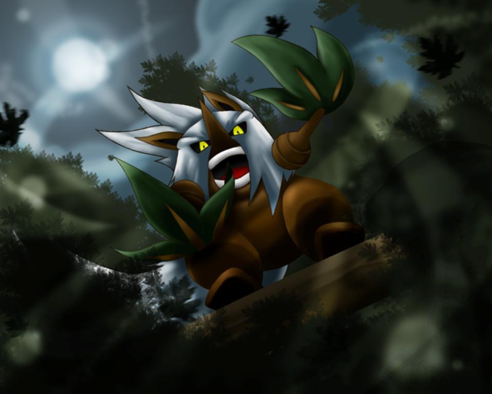 Shiftry - Pokémon - Zerochan Anime Image Board