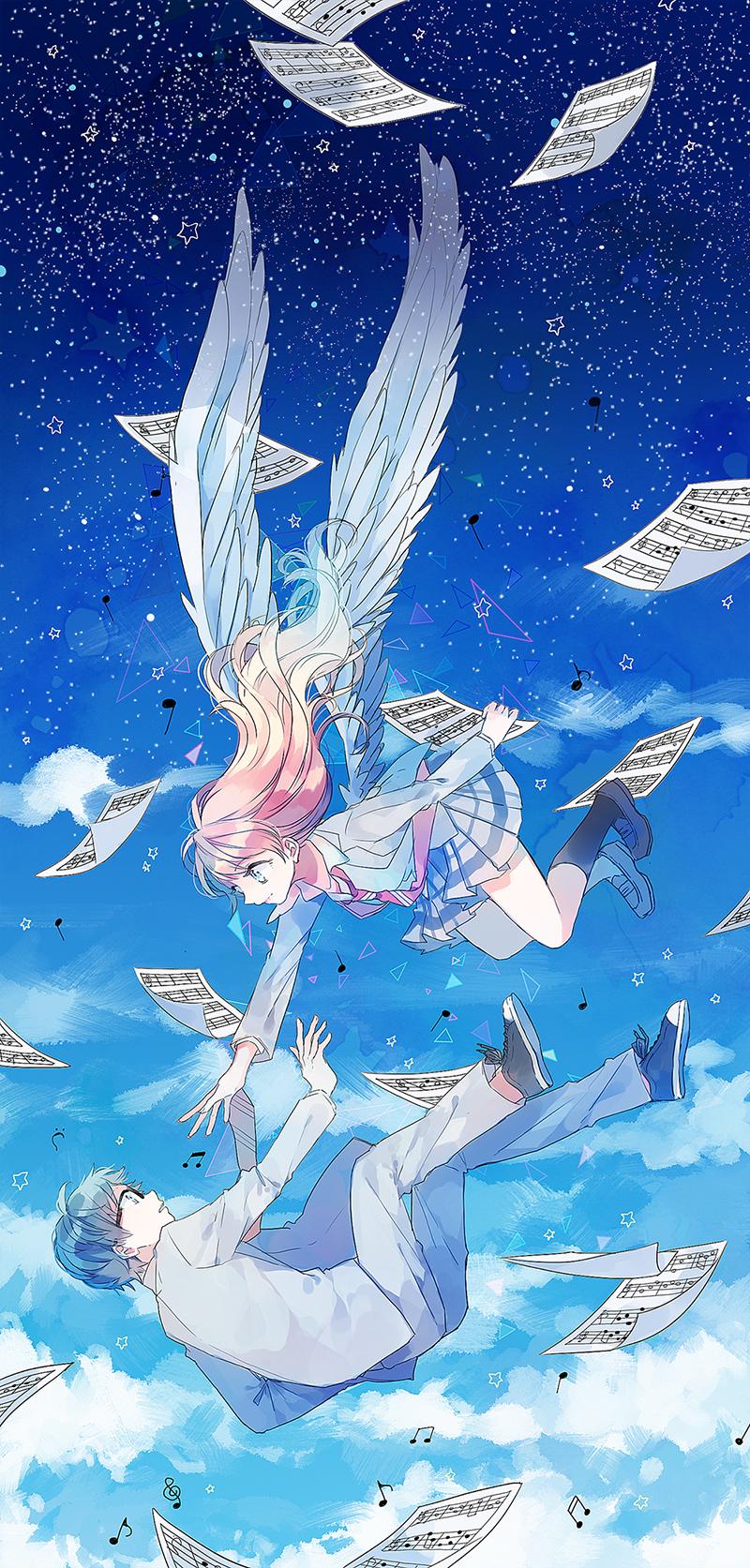 Shigatsu Wa Kimi No Uso Your Lie In April Zerochan Anime