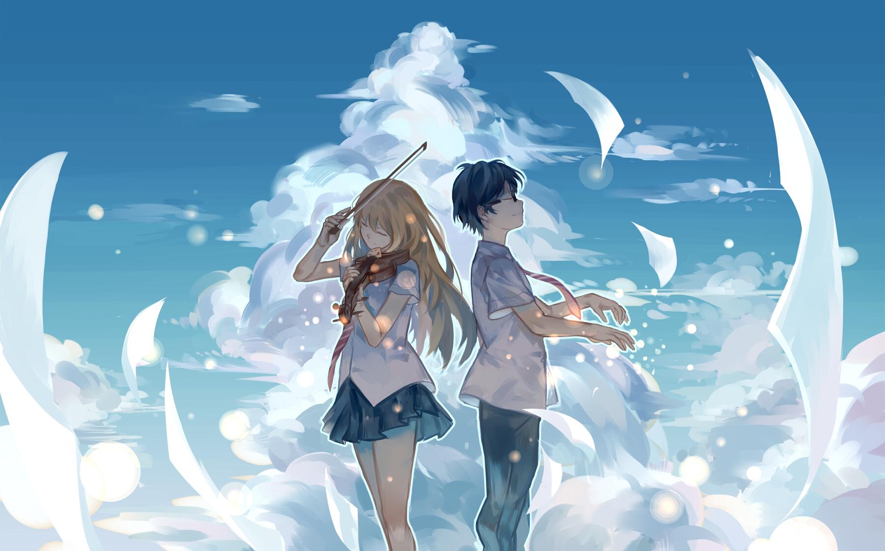 Arima Kousei Shigatsu Wa Kimi No Uso Zerochan Anime Image Board