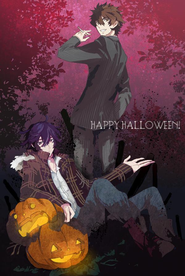 Tags: Anime, Pixiv Id 1134735, Shiki, Koide Natsuno, Ozaki Toshio, Mobile Wallpaper, Pixiv, Fanart