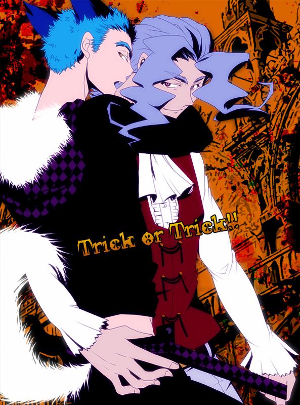 Tags: Anime, Pixiv Id 394315, Shiki, Kirishiki Seishirou, Tatsumi (Shiki), Pixiv