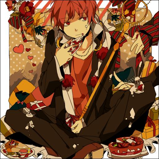 Tags: Anime, Akina422, Ao no Exorcist, Shima Renzou, Shakujou, Pomegranate Flower, Pixiv, Fanart