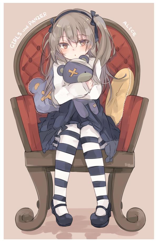 Tags: Anime, Pixiv Id 1816810, GIRLS und PANZER, Shimada Arisu, Pixiv, Fanart, Fanart From Pixiv, Mobile Wallpaper, PNG Conversion