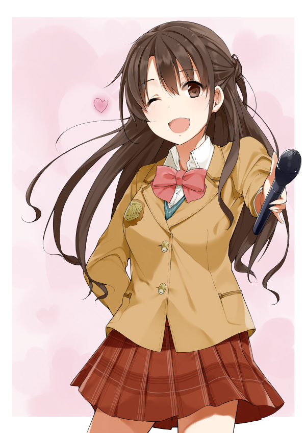 Tags: Anime, Soburi, THE iDOLM@STER: Cinderella Girls, Shimamura Uzuki, Mobile Wallpaper, Pixiv, Fanart, Fanart From Pixiv