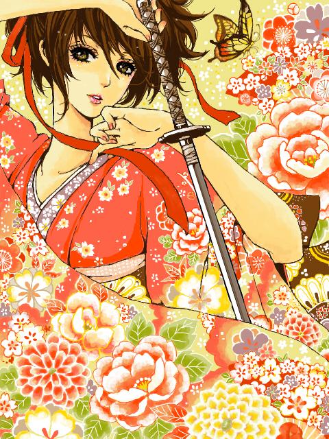 Tags: Anime, Y-yanagi, Gintama, Shimura Tae, Fanart, Tegaki, PNG Conversion
