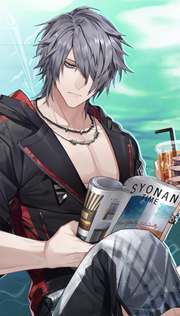 Tags: Anime, Blackstar -Theater Starless-, Shin (Black Star), Official Art, Official Card Illustration