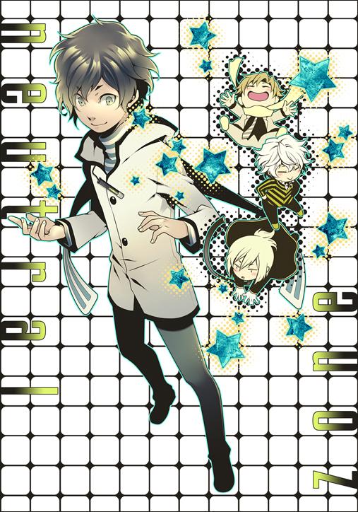 Tags: Anime, Tatsuji, Shin Megami Tensei: Devil Survivor 2, Alcor, Shijima Daichi, Hotsuin Yamato, Kuze Hibiki, Fanart, Mobile Wallpaper, Fanart From Pixiv, Pixiv