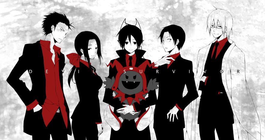 Shin Megami Tensei Devil Survivor Shin Megami Tensei Devil Survivor Overclocked Zerochan Anime Image Board