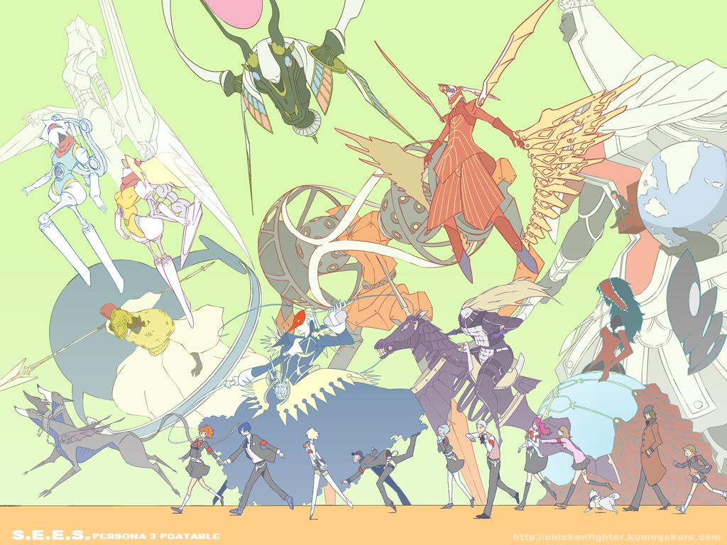 Orpheus (PERSONA) - Shin Megami Tensei: PERSONA 3 - Zerochan Anime