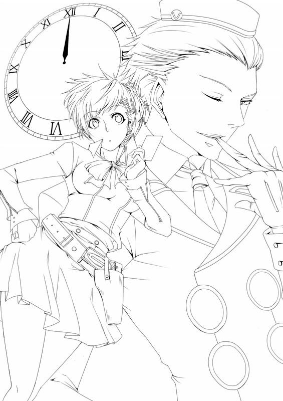 Zerochan Lineart : Shin megami tensei persona zerochan