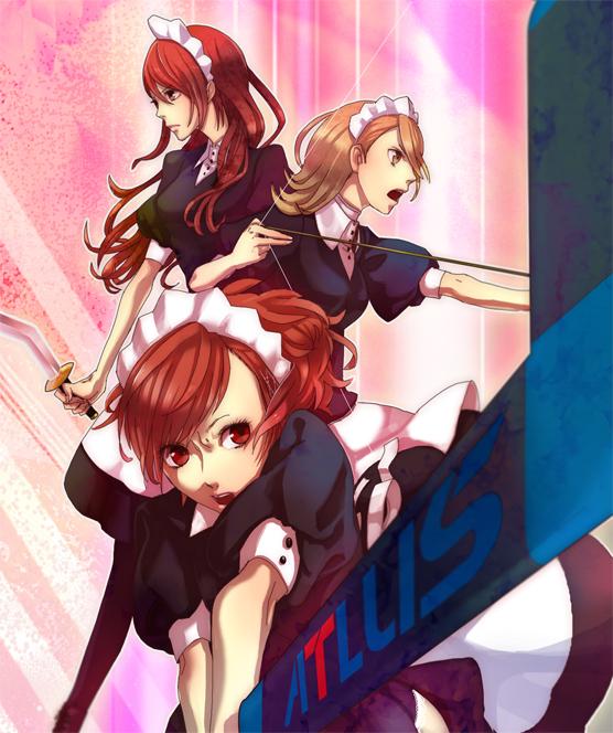 Tags: Anime, 26262626 (Artist), Persona 3 Portable, Shin Megami Tensei: PERSONA 3, Kirijou Mitsuru, Takeba Yukari, Female Protagonist (PERSONA 3), Fanart, Pixiv
