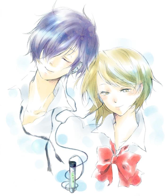 Shin Megami Tensei: PERSONA 3 Image #974131 - Zerochan ... Yukari Takeba And Minato Arisato