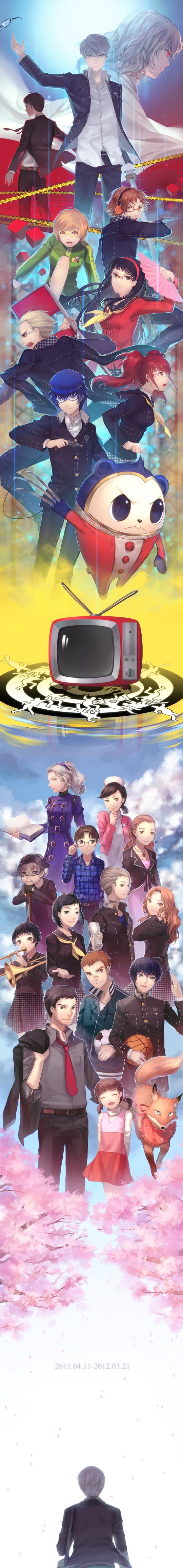 Tags: Anime, Shin Megami Tensei: PERSONA 4, Ichijo Kou, Minami Eri, Satonaka Chie, Doujima Nanako, Izanami, Ozawa Yumi, Kuroda Hisano, Amagi Yukiko, Hanamura Yousuke, Nagase Daisuke, Margaret (PERSONA 4)