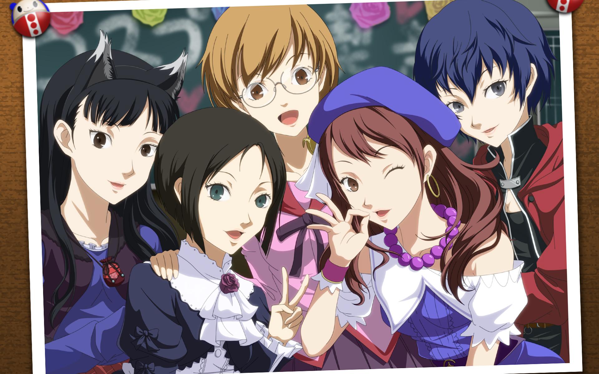 Persona 4 Anime Characters : Shin megami tensei persona wallpaper