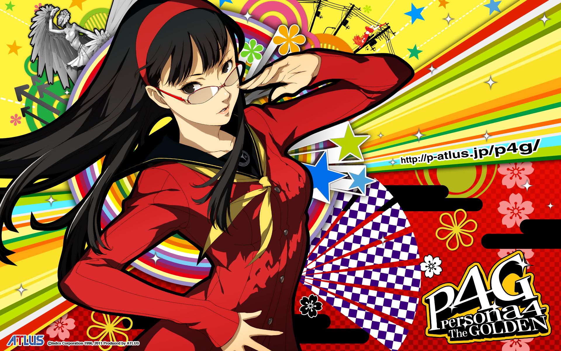 Amagi Yukiko, Wallpape...Persona 4 Arena Yukiko Amagi