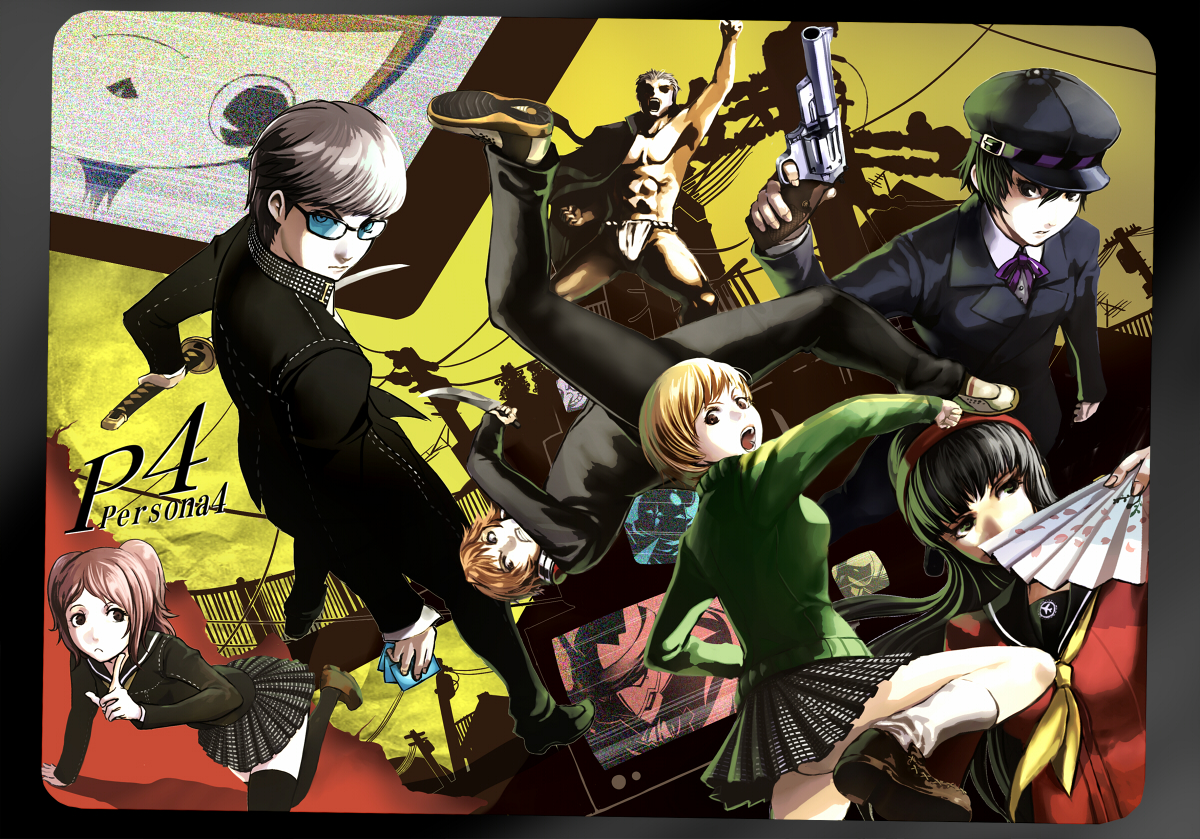 Persona 4 The Animation Wallpaper Tags Anime Shin Megami