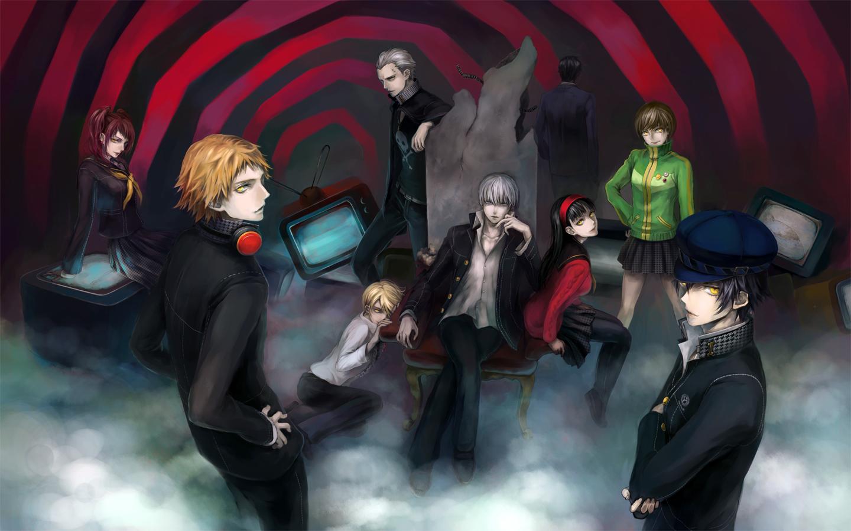 Anime persona 4 persona 4 yu gif on gifer by vitilar.