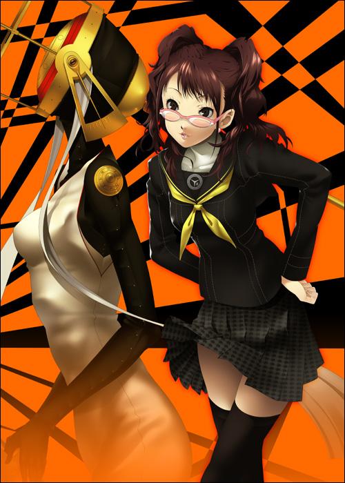 Tags: Anime, Mizuki Makoto, Shin Megami Tensei: PERSONA 4, Kujikawa Rise, Himiko (Persona)