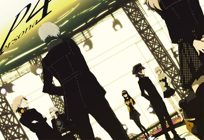 Tags: Anime, Pixiv Id 71476, Shin Megami Tensei: PERSONA 4, Tatsumi Kanji, Satonaka Chie, Amagi Yukiko, Narukami Yu, Hanamura Yousuke, Shirogane Naoto, Kuma, Pixiv, Fanart