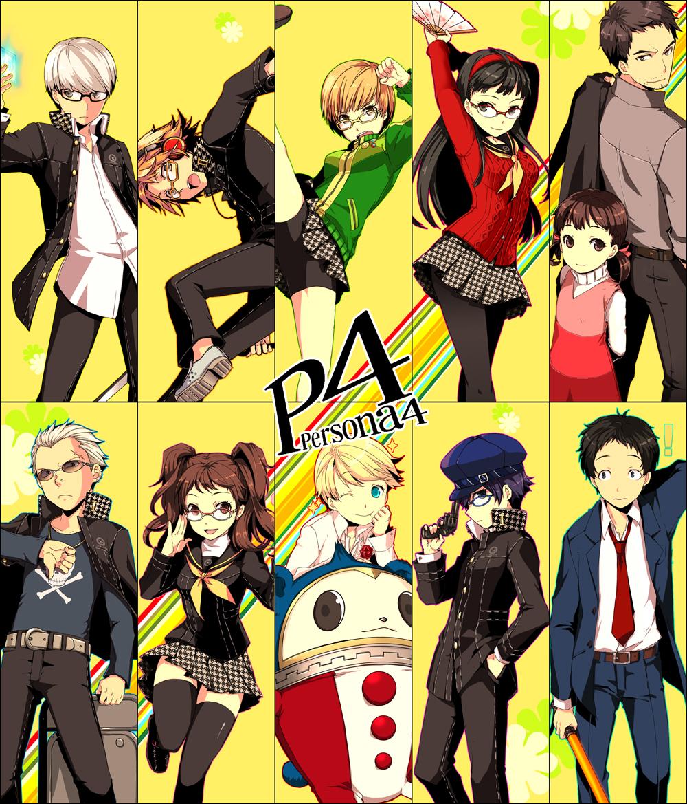 Persona 4 Anime Characters : Shin megami tensei persona image  zerochan