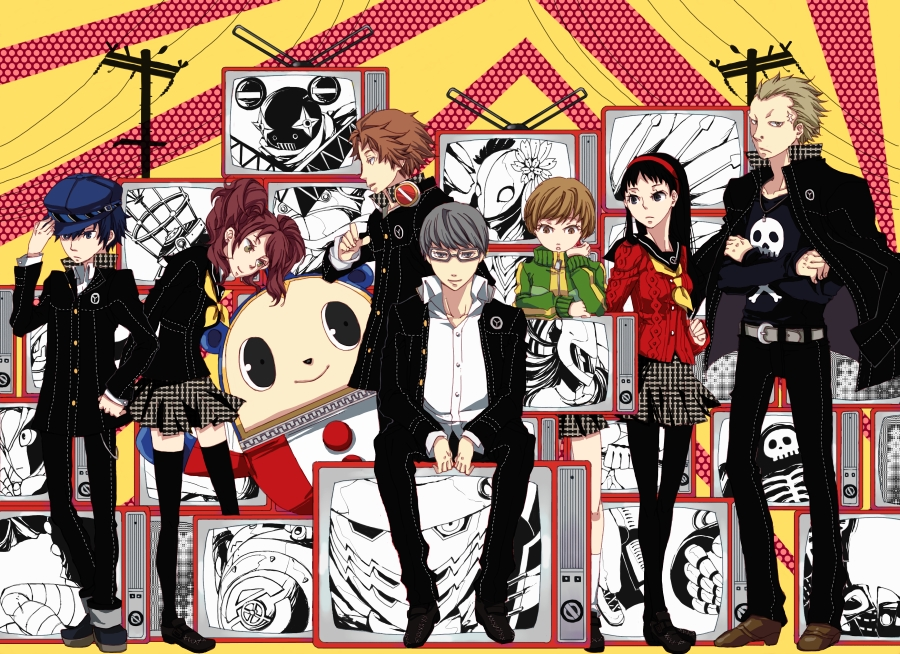 Persona 4 Anime Characters : Persona characters pixshark images galleries