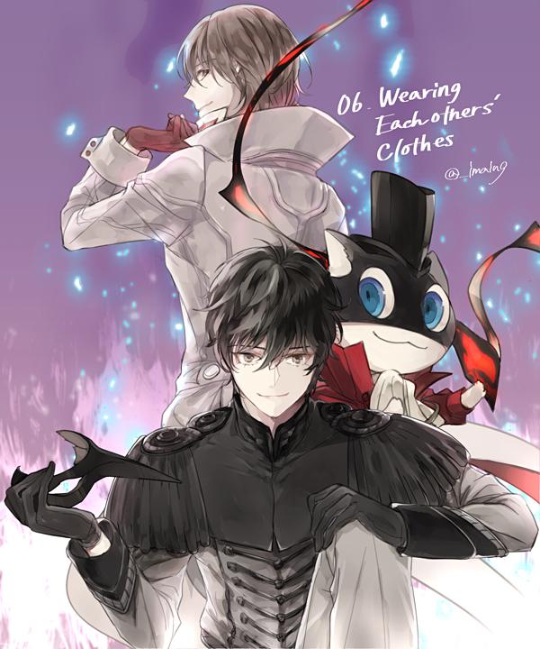 Amamiya Ren Cosplay Amamiya Ren Persona 5 Zerochan Anime Image Board