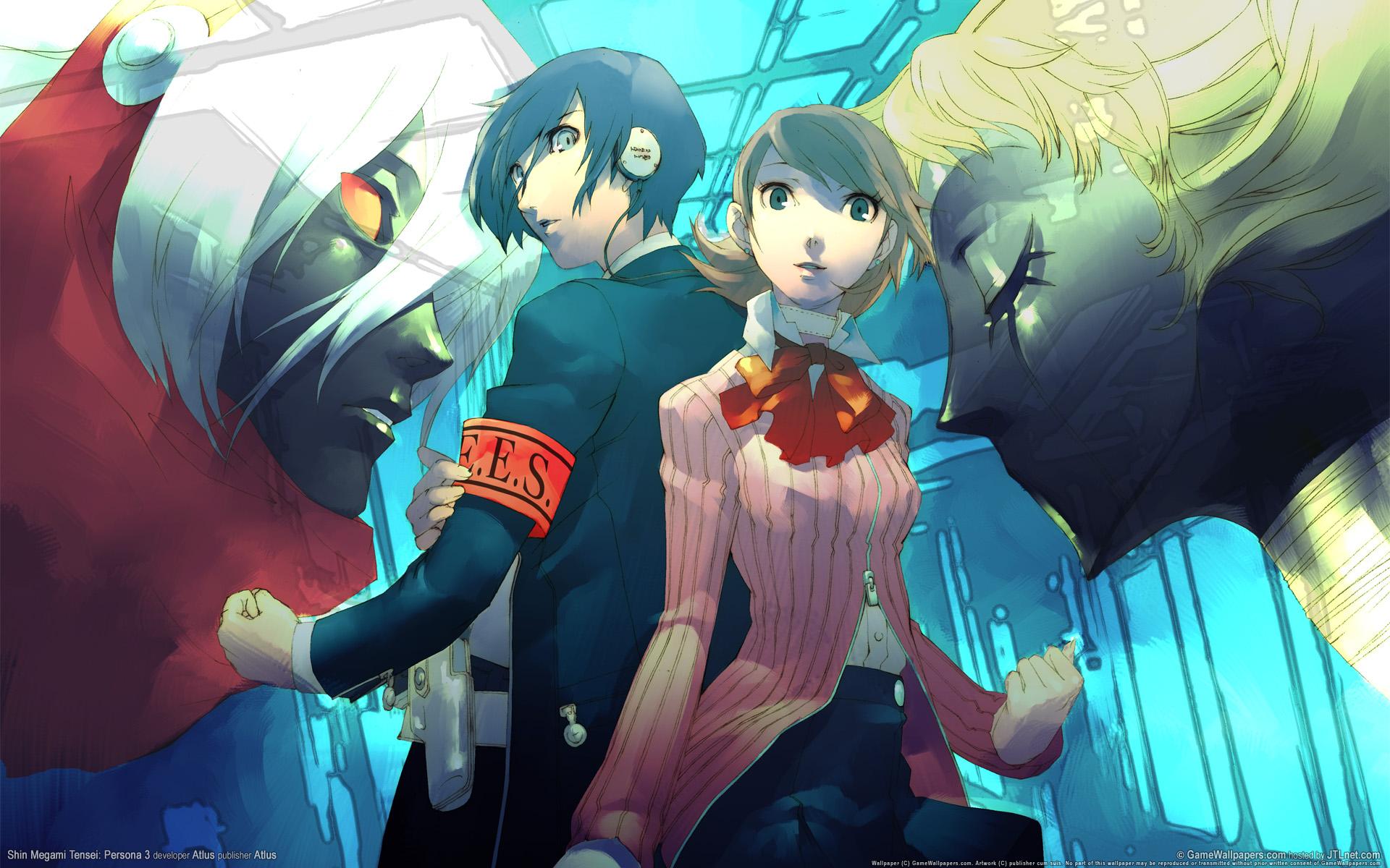 Yukari Takeba Wallpaper Shin Megami Tensei: PE...